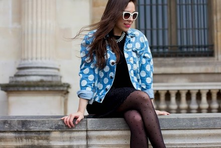 ambitieuse-blog-fashion-outfit-houseofholland-denim-jacket-polka-dot-mybeautifuldressing-1-