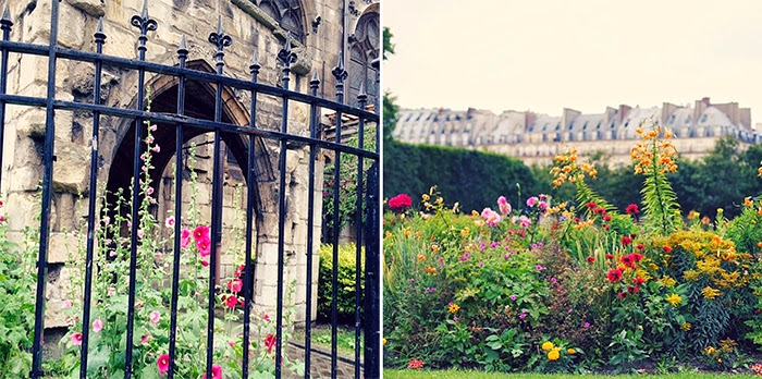 Summer in Paris Photo Diary - flowers