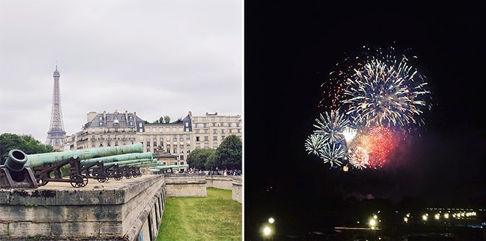 Summer in Paris Photo Diary - bastille 14 juillet