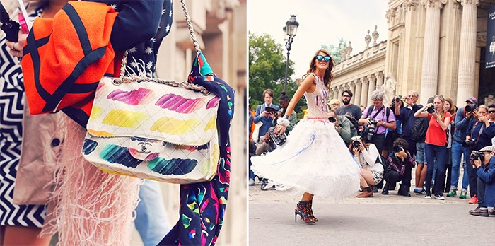 Summer in Paris Photo Diary - Fashion Street Style looks Anna dello Russo Chanel