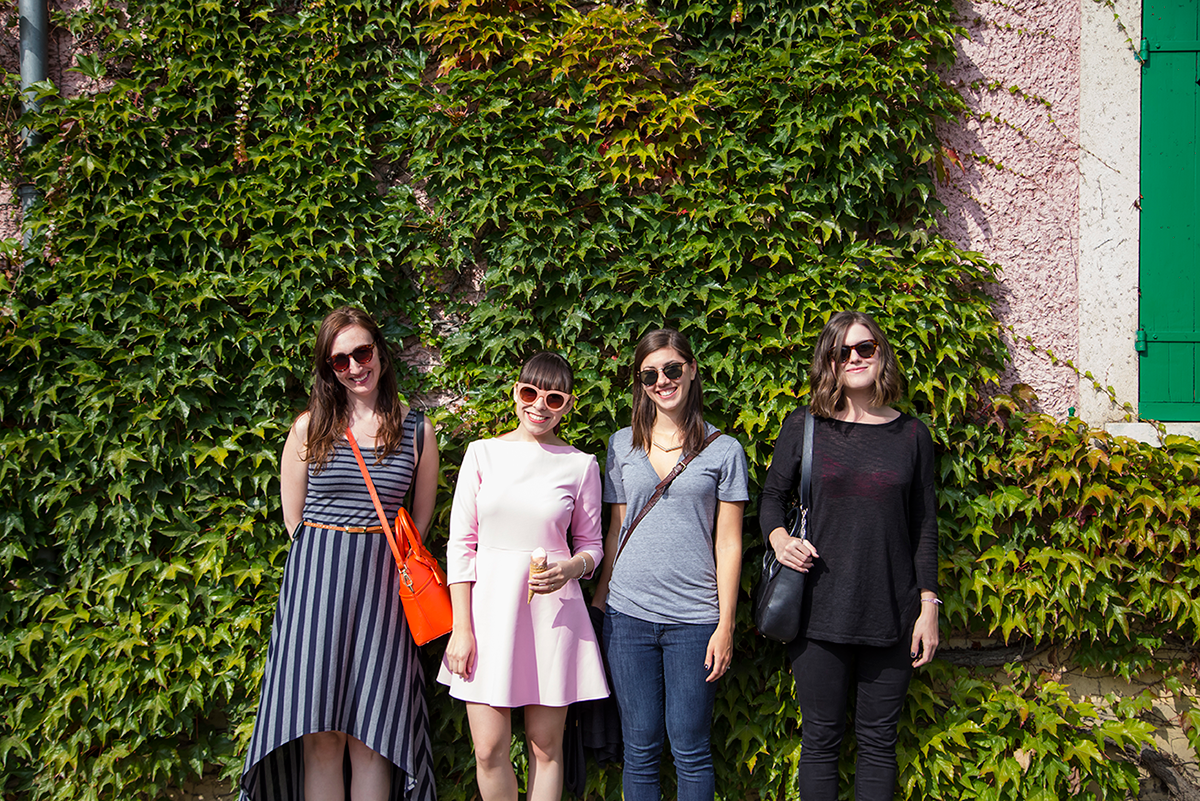 Girls in Giverny