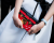 LV Red clutch PFW SS15 Louis Vuitton Street Style by Ylenia Cuellar