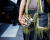 LV Golden clutch PFW SS15 Louis Vuitton Street Style by Ylenia Cuellar