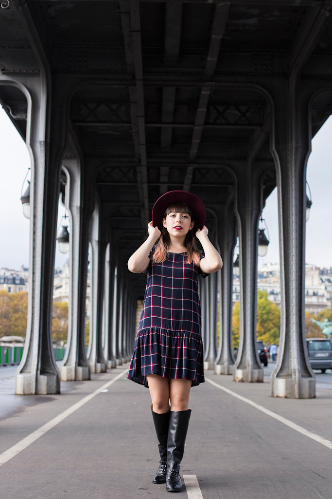 British Style by Ylenia Cuellar in Paris - outfit