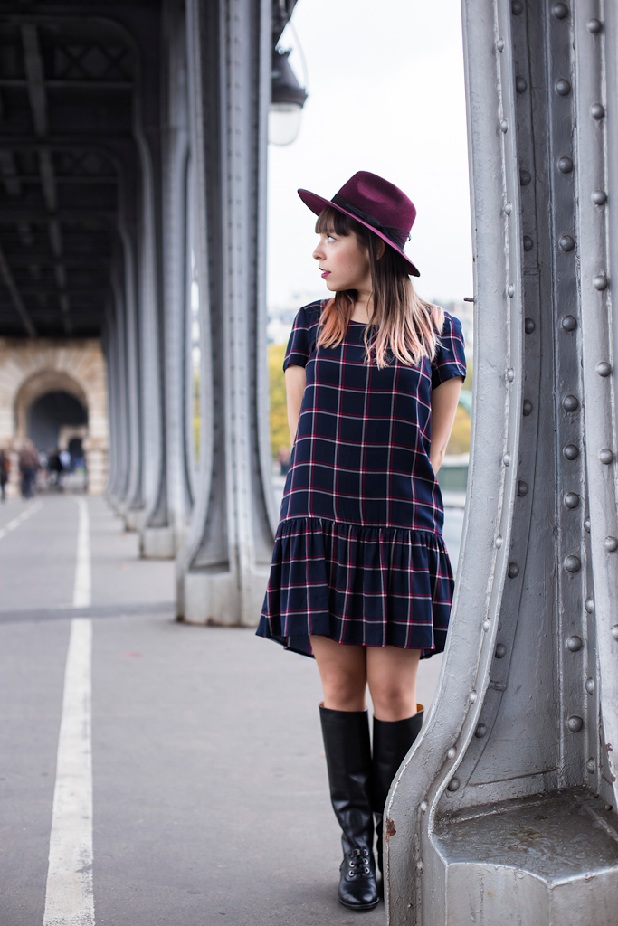 British Style by Ylenia Cuellar in Paris - girl