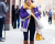 Purple jacket NYFW AW15 Street Style Ambitious Looks