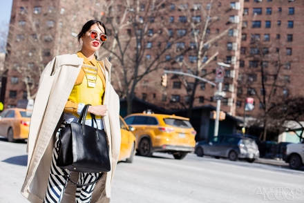 Yellow NYFW AW15 Street Style Ambitious Looks