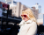 Heart sunglasses NYFW AW15 Street Style Ambitious Looks