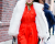 Tina Leung red NYFW AW15 Street Style Ambitious Looks
