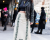 Red boots NYFW Tommy Hilfiger AW15 Street Style Ambitious Looks
