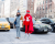 Red sportswear NYFW Tommy Hilfiger AW15 Street Style Ambitious Looks