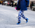 Blue pants NYFW Tommy Hilfiger AW15 Street Style Ambitious Looks
