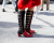 Red shoes NYFW Tommy Hilfiger AW15 Street Style Ambitious Looks