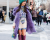 Purple boots NYFW Tommy Hilfiger AW15 Street Style Ambitious Looks