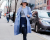 Blue coat NYFW Tommy Hilfiger AW15 Street Style Ambitious Looks