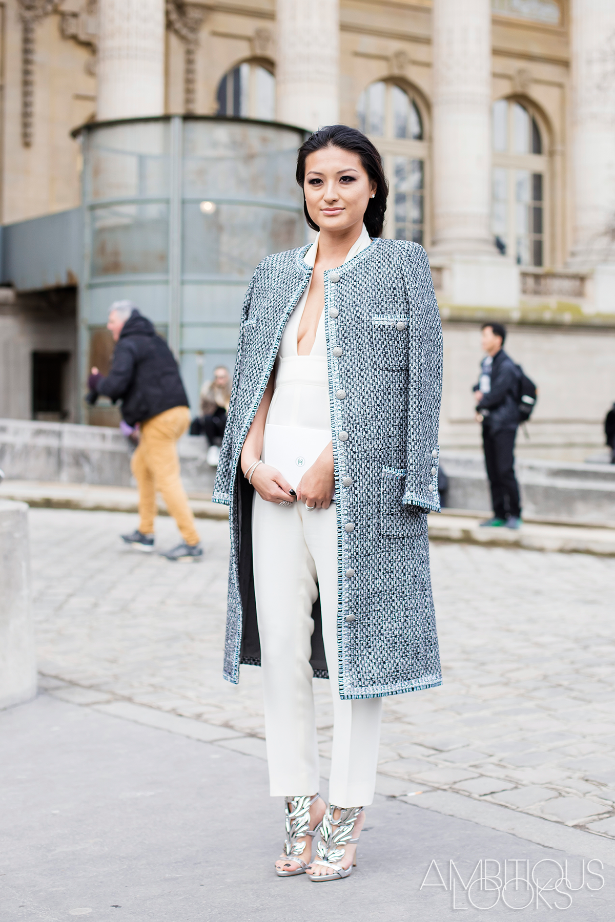 Pcw Aw15 Chanel Couture Street Style Ambitieuseambitieuse