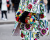 Floral coat Paris Couture Week AW15 Chanel Street Style Ambitious Looks