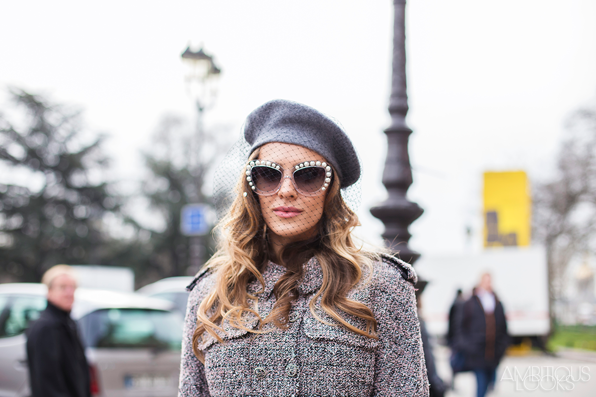 Chanel Style Sunglasses  pcw aw15 chanel couture street style ambitieuseambitieuse