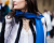 Blue scarf Paris Couture Week AW15 Chanel Street Style Ambitious Looks