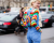 Rainbow look Elie Saab Couture AW15 Street Style Ambitious Looks