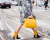 Yellow handbag Gucci AW15 MFW Street Style by Ambitious Looks