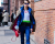 Blue suit NYFW Jeremy Scott AW15 Street Style by Ambitious Looks