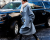 Girl coat NYFW Hugo Boss AW15 Street Style by Ambitious Looks