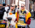 Beckerman sisters NYFW Jeremy Scott AW15 Street Style by Ambitious Looks
