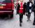 Red top NYFW Ralph Lauren AW15 Street Style Ambitious Looks