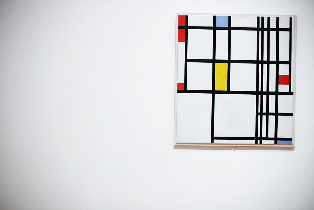 Piet Mondrian MoMA Photos of Winter in New York City february 2015