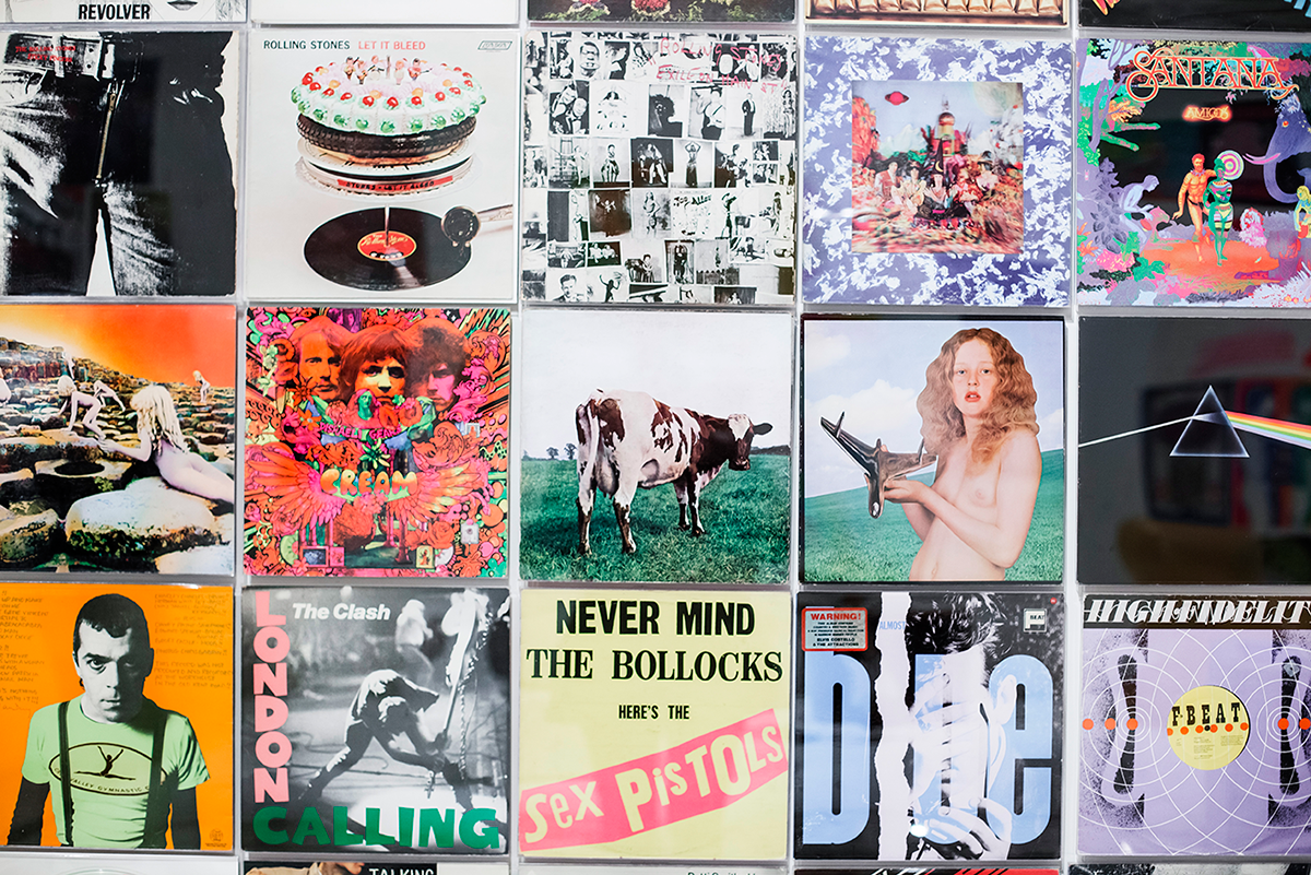 Vinyl Records MoMA Photos of Winter in New York City february 2015