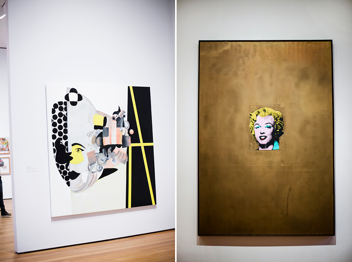 Andy Warhol MoMA Photos of Winter in New York City february 2015