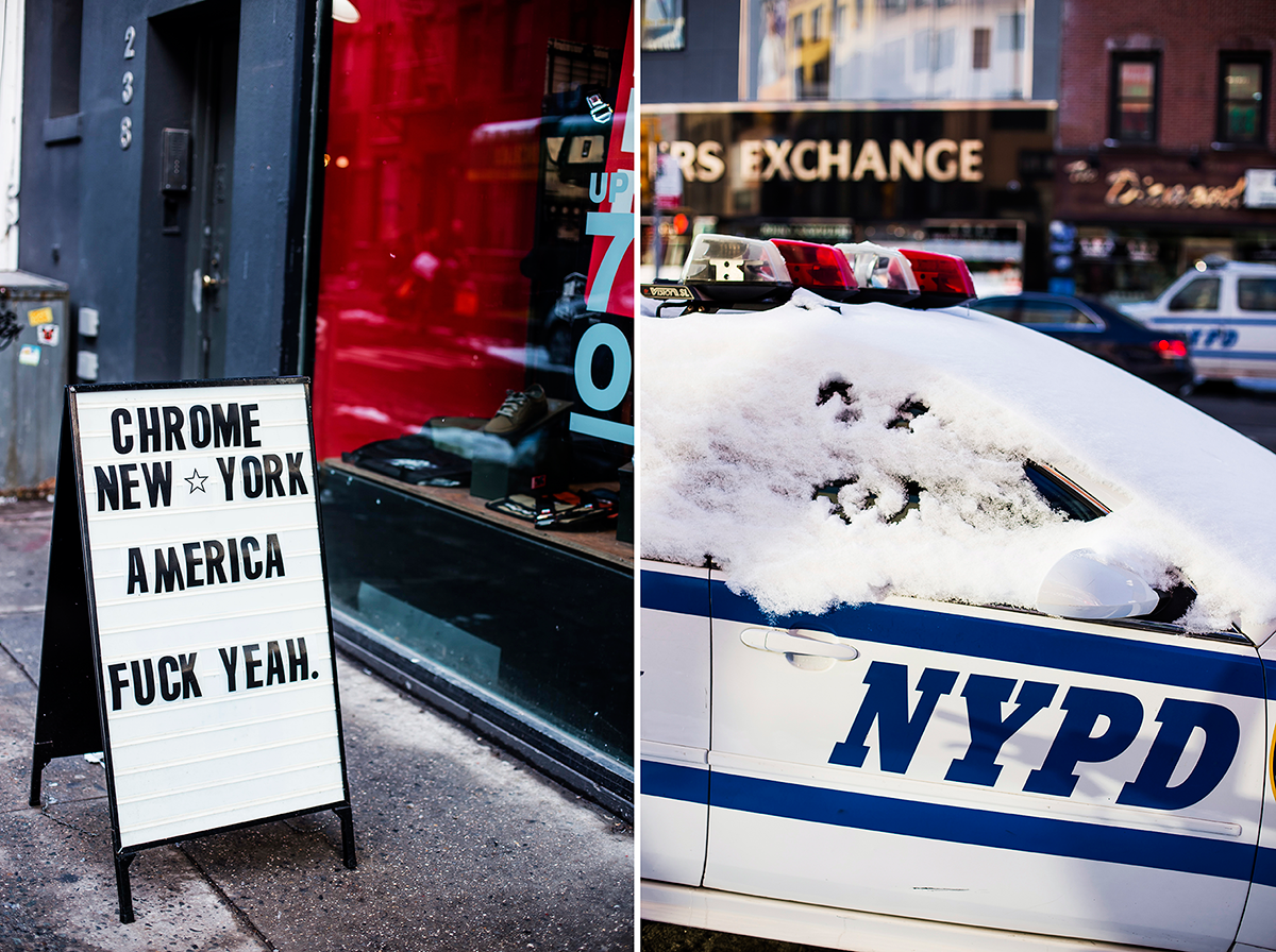 NYPD Photos of Winter in New York City february 2015