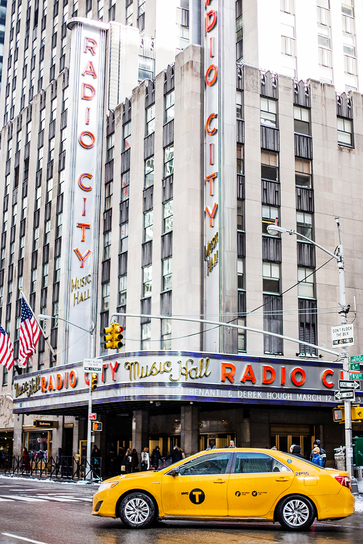 Radio City Hall Photos of Winter in New York City february 2015