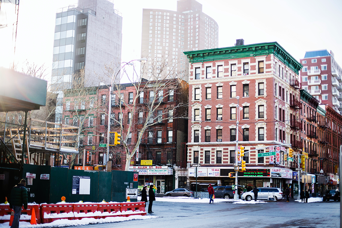 Lower east side Photos of Winter in New York City february 2015