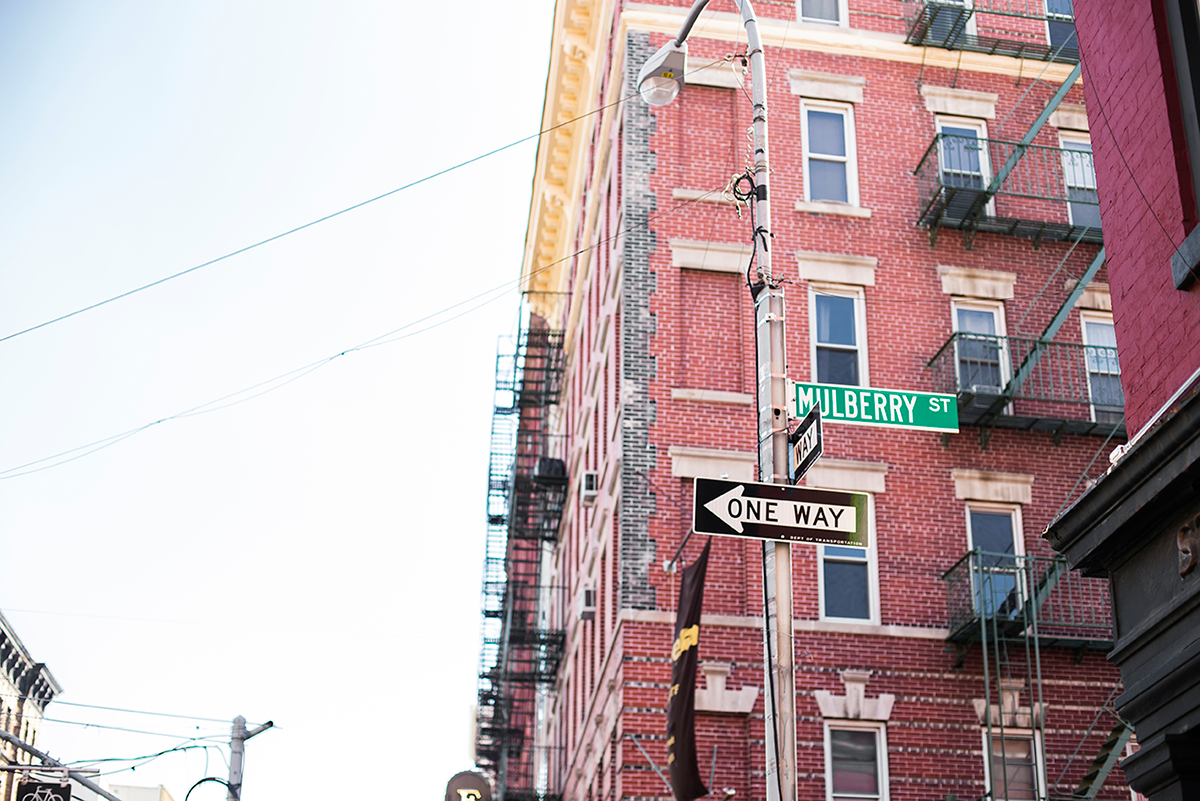 Mulberry St Photos of Winter in New York City february 2015