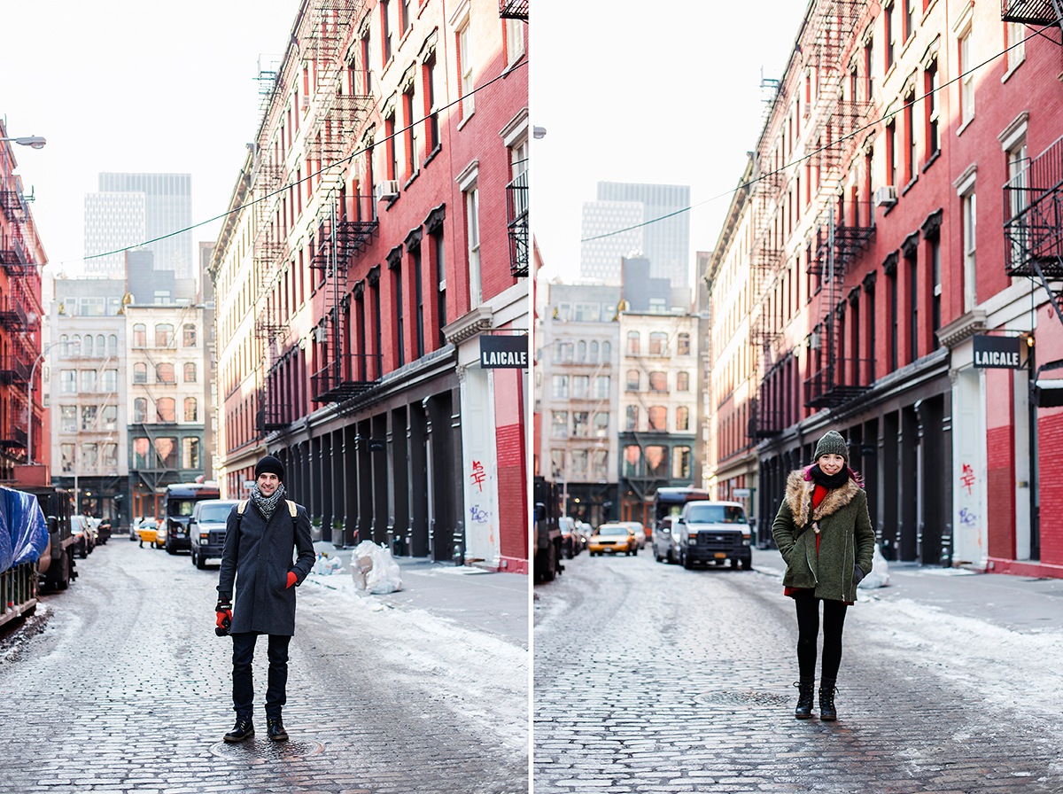 portraits Photos of Winter in New York City february 2015