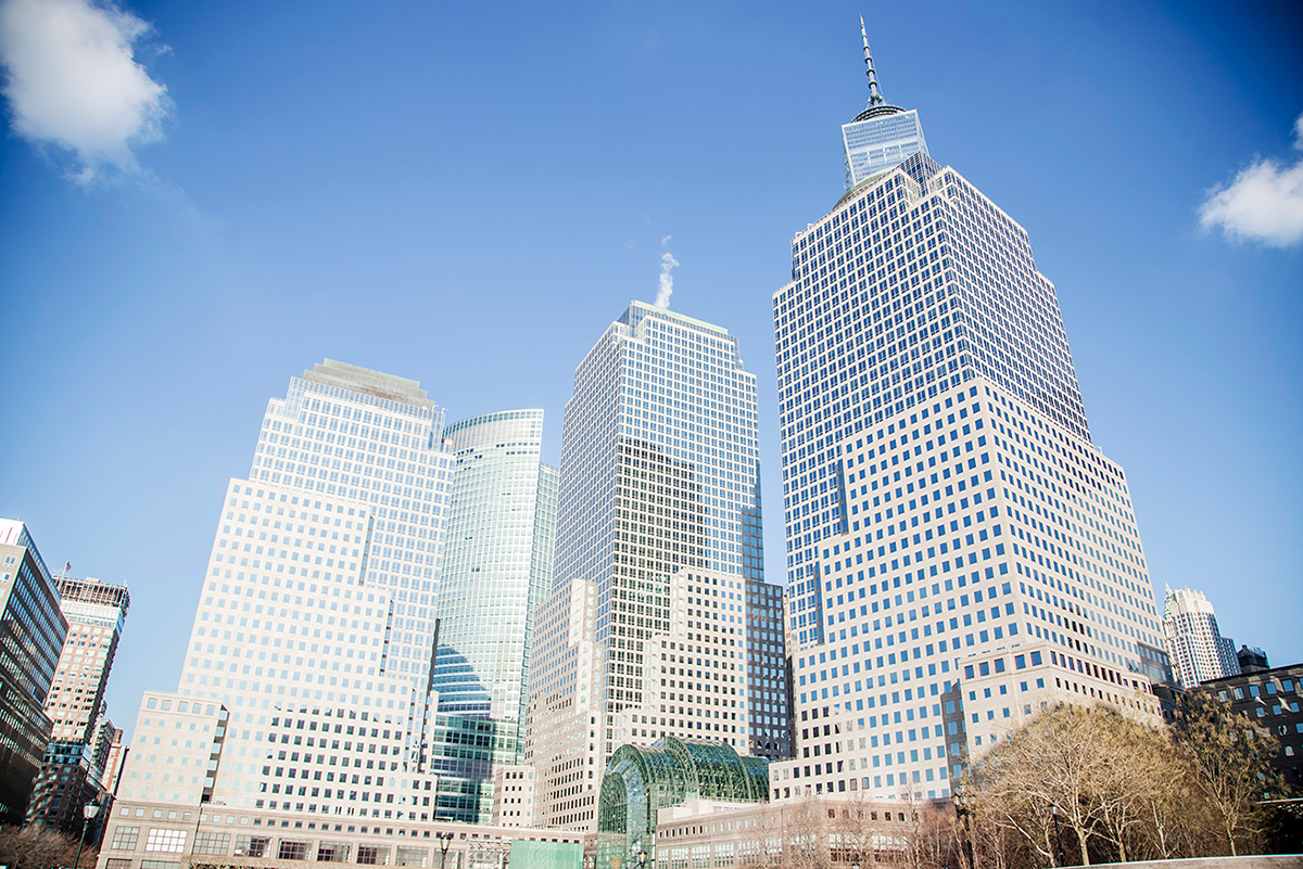 Financial district Photos of Winter in New York City february 2015