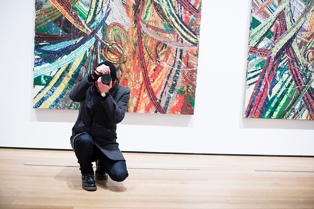 MoMA visit Photos of Winter in New York City february 2015
