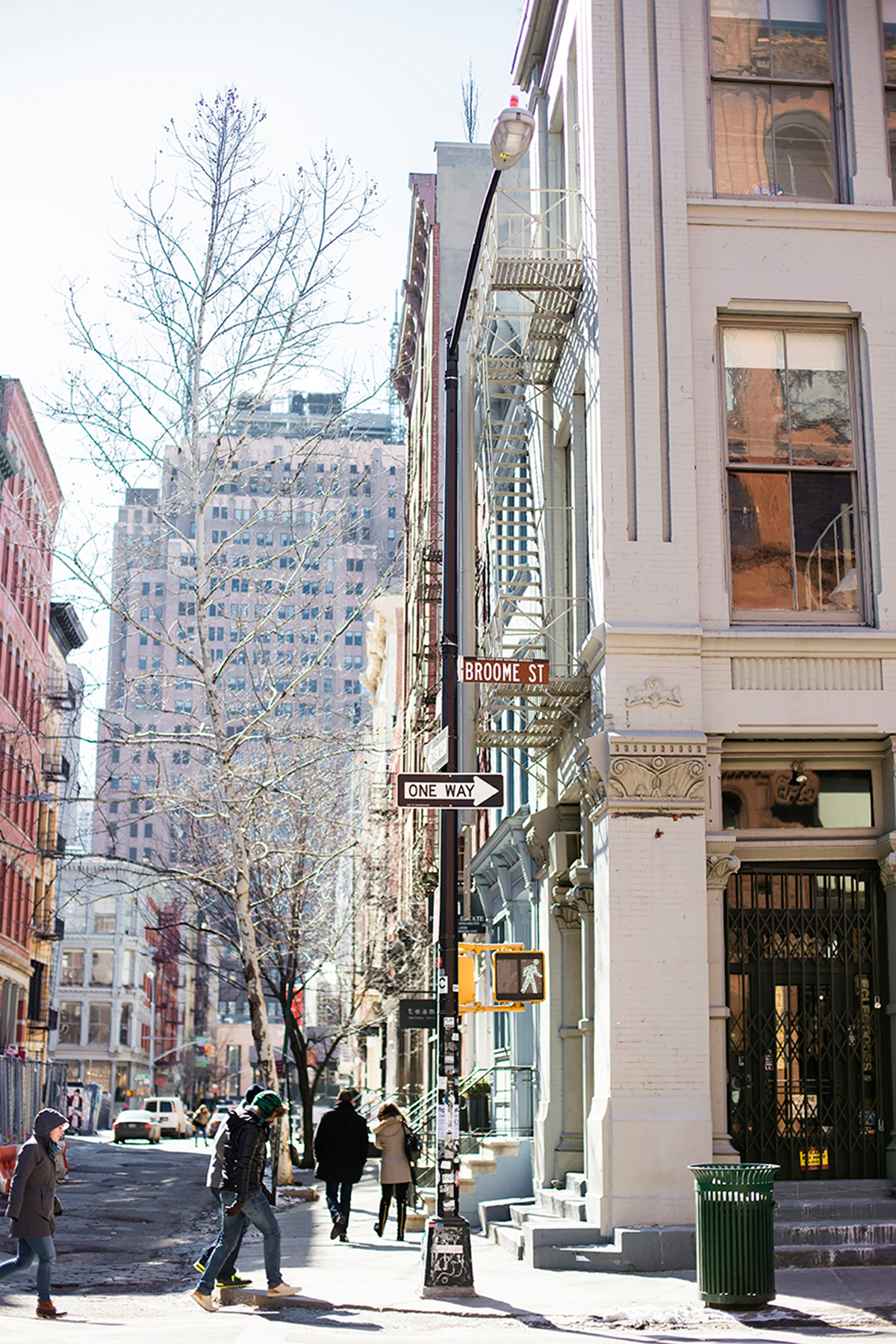Beautiful photos of New York City February 2015 Broome Street