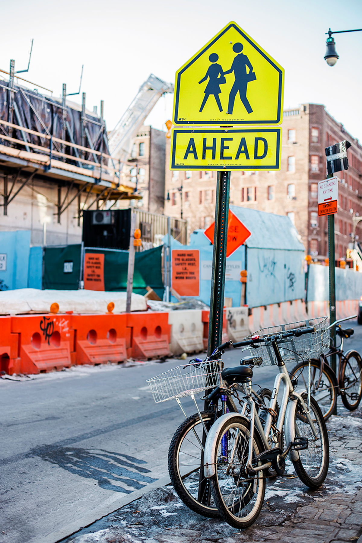 Beautiful photos of New York City February 2015 traffic signs