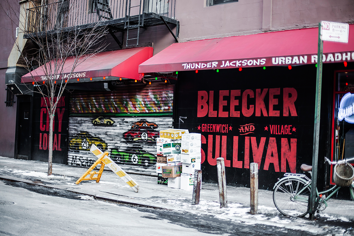 Beautiful photos of New York City February 2015 in the street