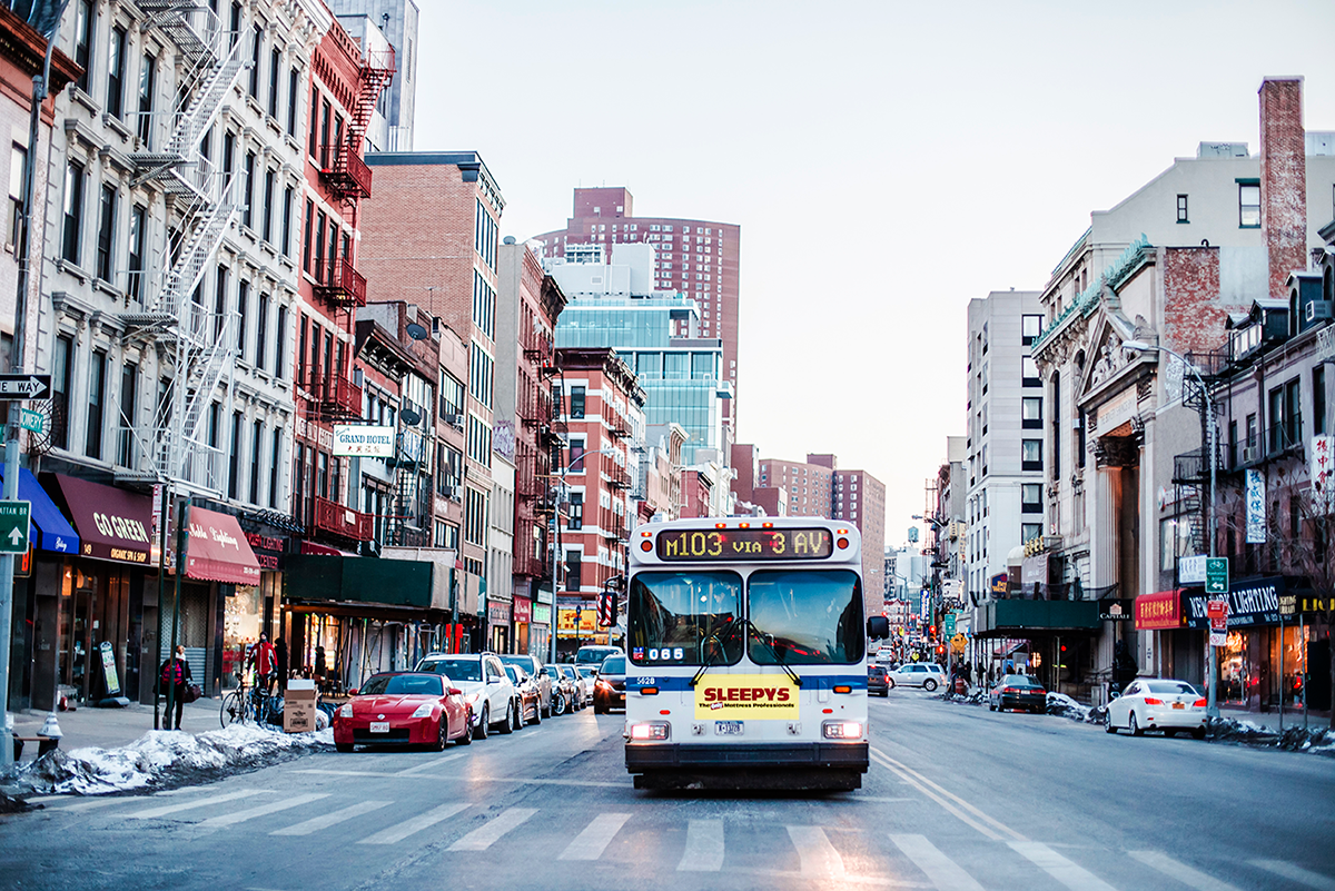 Beautiful photos of New York City February 2015 Bus