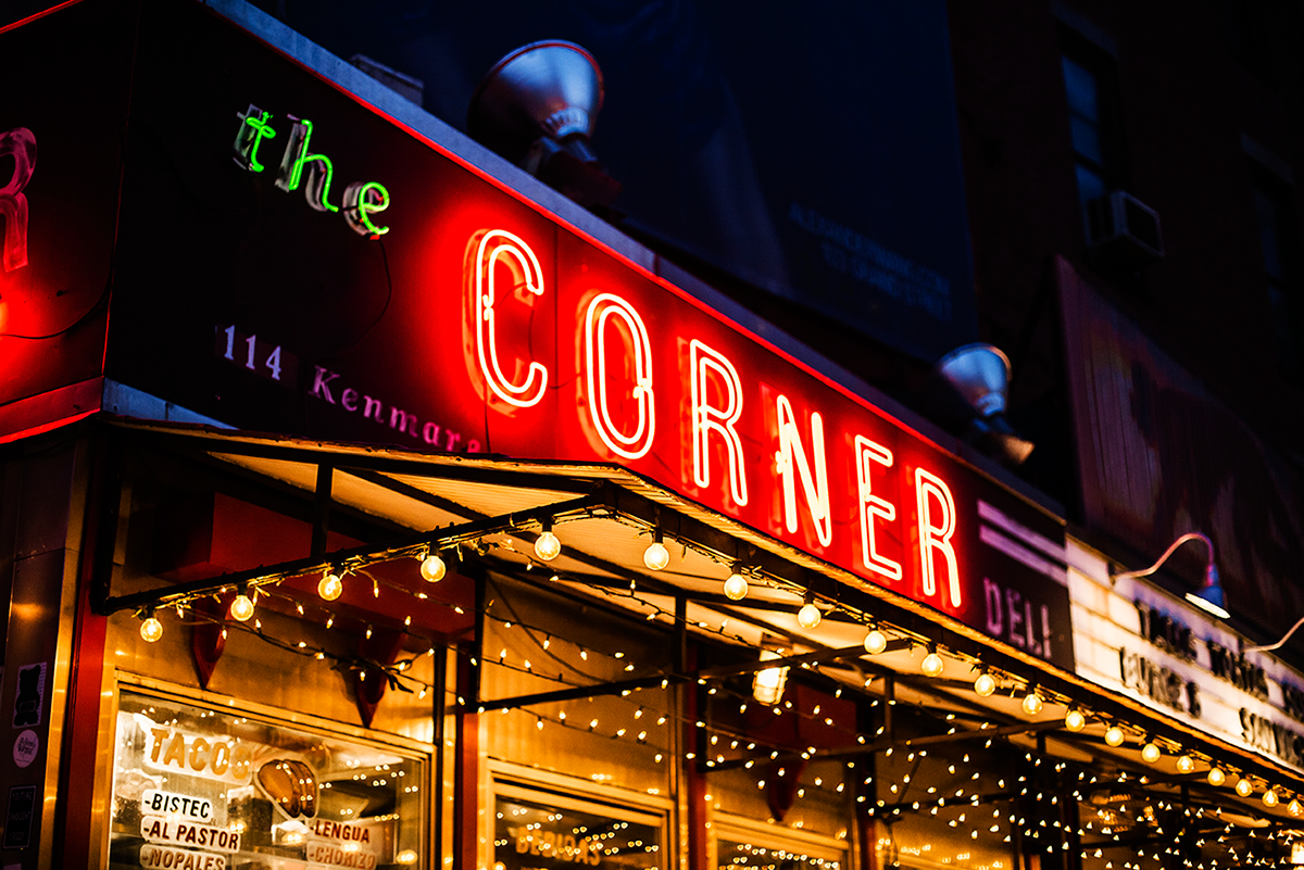 Beautiful photos of New York City February 2015 The Corner Deli