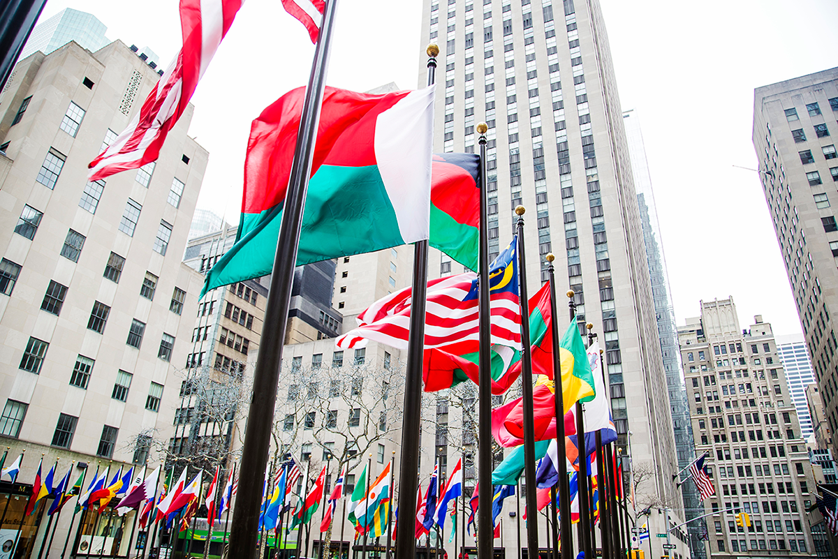 Beautiful photos of New York City February 2015 Rockefeller Plaza