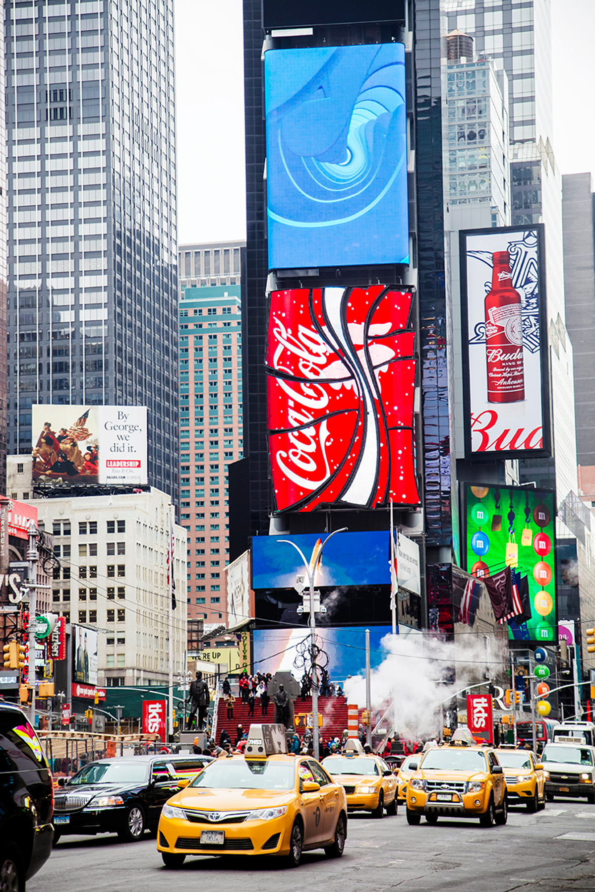 Beautiful photos of New York City February 2015 Times Square at day