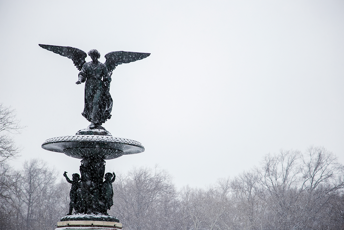 New York City february 2015 photo journal central park fountain