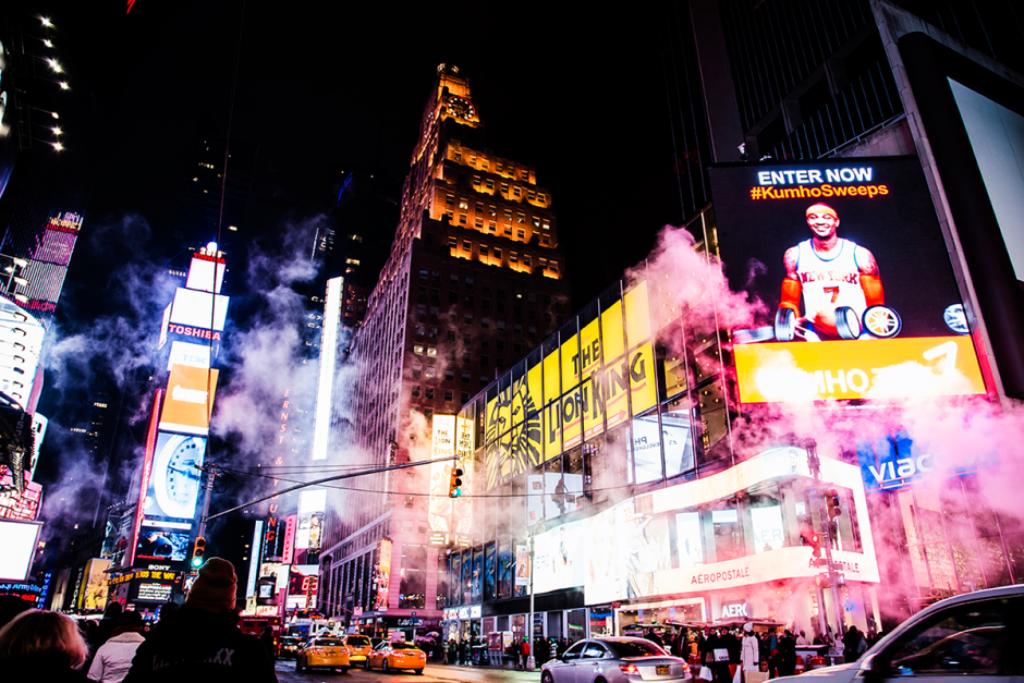 New York City february 2015 photo journal Times Square at night