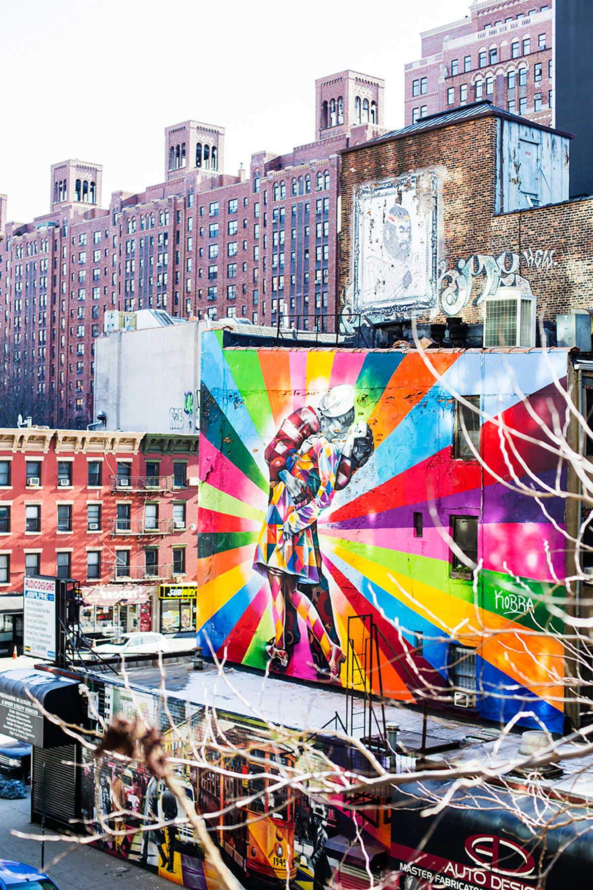 New York City february 2015 photo journal graffiti Kobra