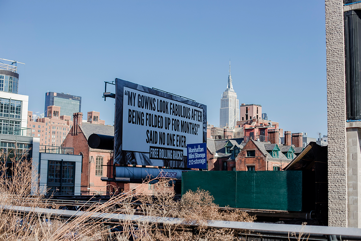 New York City february 2015 photo journal High Line Park view